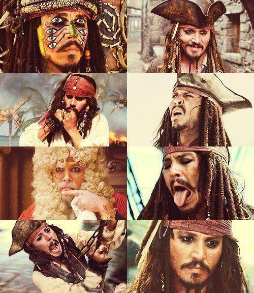 The Many Jack Sparrows