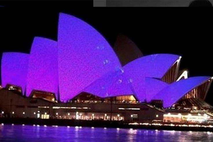 Sydney Opera House Australia Prince Tribute