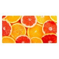 Narancs szeletek falikép