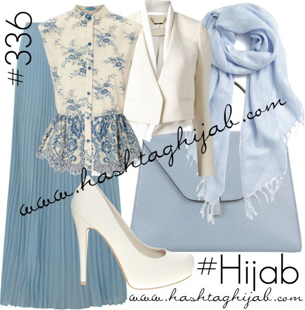 Hashtag Hijab Outfit #336 by hashtaghijab featuring a sheer shawlAlice Olivia scalloped top€355 - harveynichols.comWhite shawl€1.190 - farfetch.comAlice You pleated maxi skirt€40 - dorothyperkins.comFaith white heel pumps€63 - asos.comValextra bag€2.225 - barneys.comHalogen sheer shawl€21 - nordstrom.com