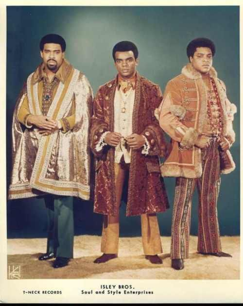 The Isley Brothers - love the outfits
