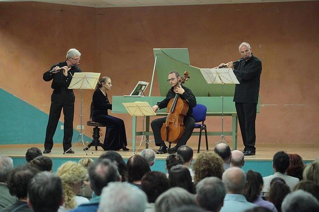Triosonate alla Sala Polivalente Mario Operti. 22 settembre 2012