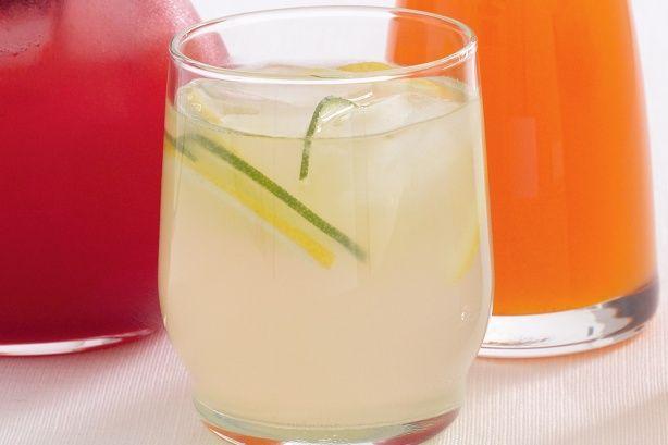 Lemon and lime cordial