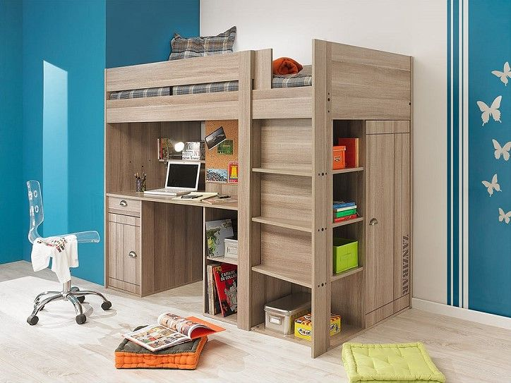 25 b sta lit mezzanine pas cher id erna p pinterest prix du bois bo i sm hus och fabriquer. Black Bedroom Furniture Sets. Home Design Ideas