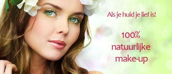 Biologische make-up puur natuur 100% natuurlijke eco cosmetica