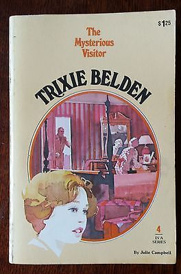 The Mysterious Visitor Kathryn Kenny Trixie Belden no 4 acceptable condition PB