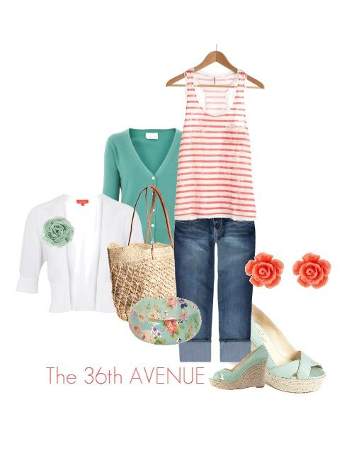 super cute spring outfits