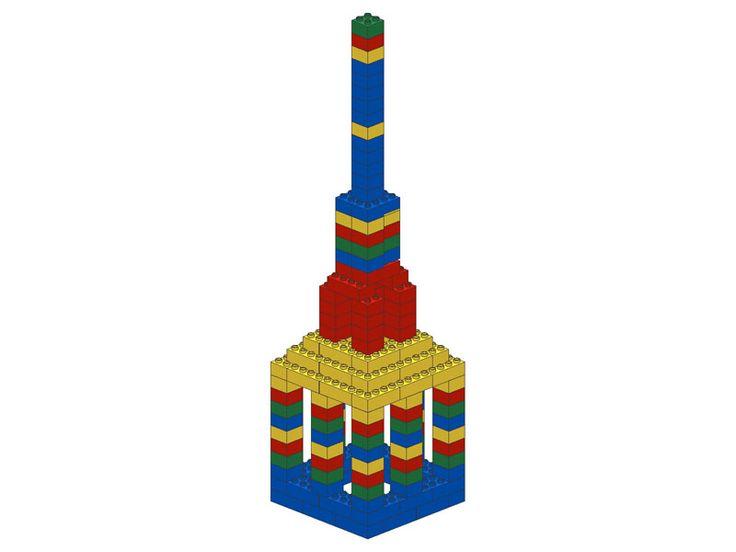 Duplo building - Tower big