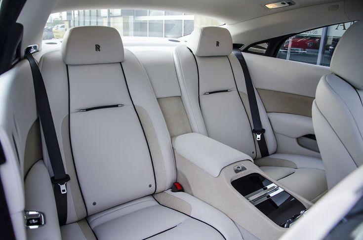 2013 63 rollsroyce wraith coupe 2dr auto car interior
