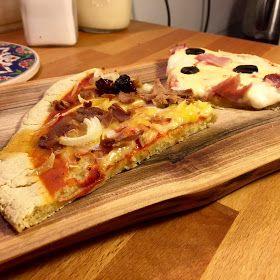 Jemy Oczami: Bezglutenowy spód do pizzy