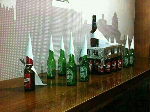 La semana santa de muchos, Heineken humor humor