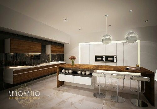 Warm ambience for kitchen.