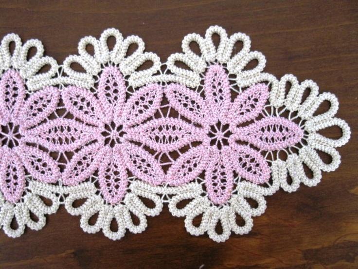 Romanian Point Lace crochet: