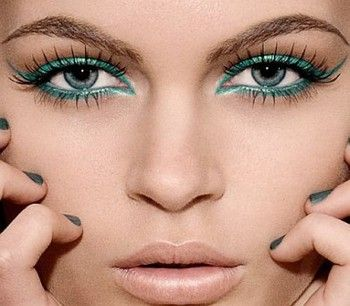 Love the lipstick, eyes pretty too if you have blue or green eyes.