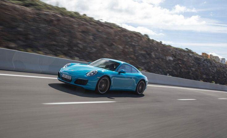 2017 Porsche 911 Carrera S Test Drive