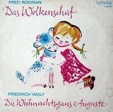 """LITERA 8 60 043 Das Wolkenschaf / Weihnachtsgans Auguste DDR 1973 12"""" Vinyl LP"""