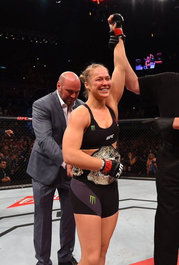 34 seconds and good night. That was all the time it took for UFC star Ronda Rousey to knockout Brazilian opponent Bethe C0rreia in the highly-anticipated UFC 190 title fight. Rousey is now another step closer to a perfect career, after claiming her sixth UFC title.