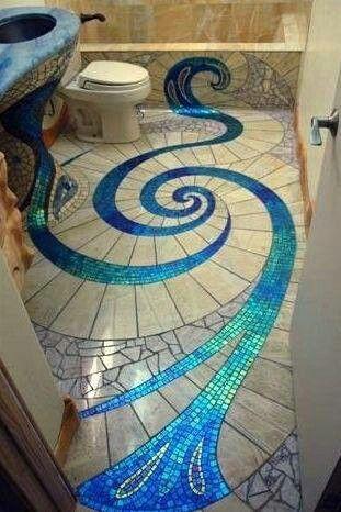 Still my favorite mosaic floor!!!