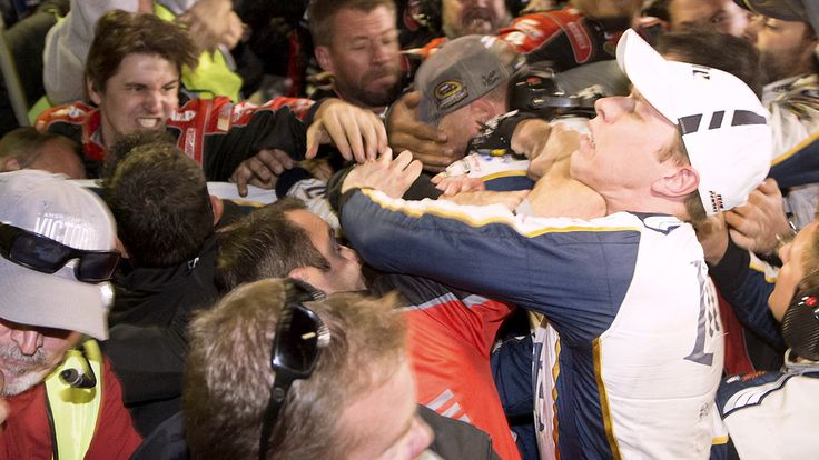 Sunday's post-race melee at Texas Motor Speedway saw not only Brad Keselowski and Jeff Gordon fight it out, but also their crew members. Should drivers settle things on their own or do crews have a right to get involved as well?