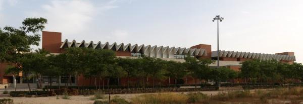 Aulario de Ciencias Experimentales (Alicante) realizado por Alfonso Casares, Reinaldo Ruiz Yébenes, Antonio Ocaña Rubia.