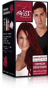 hmm   Splat Hair Colorsplat kit Crimson ObsessionHair color