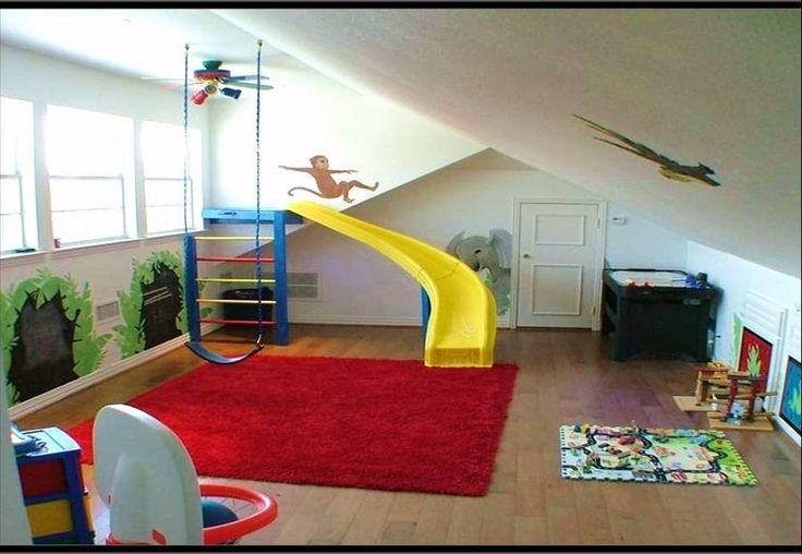 Attic playroom! Omg!!! I LOVE this! :)