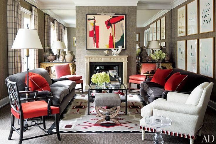 Our favorite before-and-after living rooms.   archdigest.com
