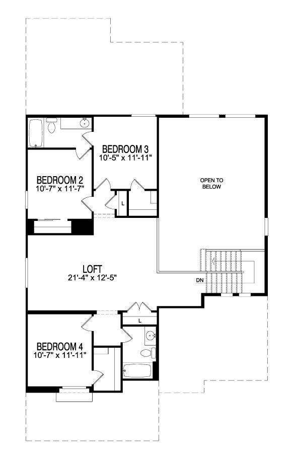 1000 Images About Floor Plans On Pinterest Pulte Homes