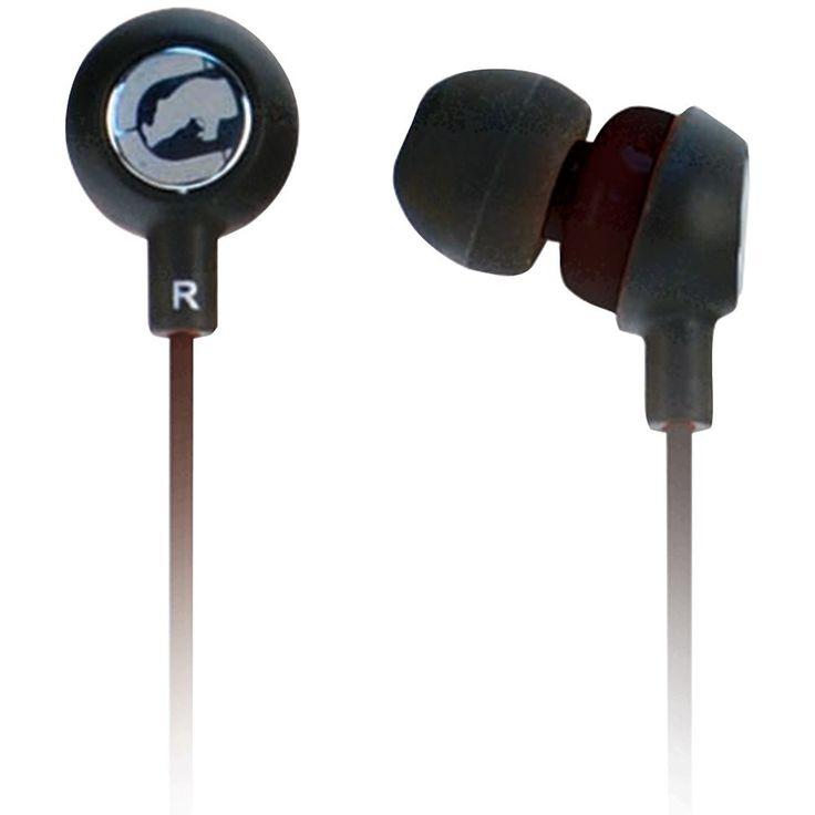 ECKO UNLIMITED EKU-CHA2-BK Ecko Chaos 2 Earbuds with Microphone (Black)