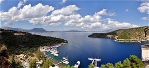 View from Spartohori, Meganissi