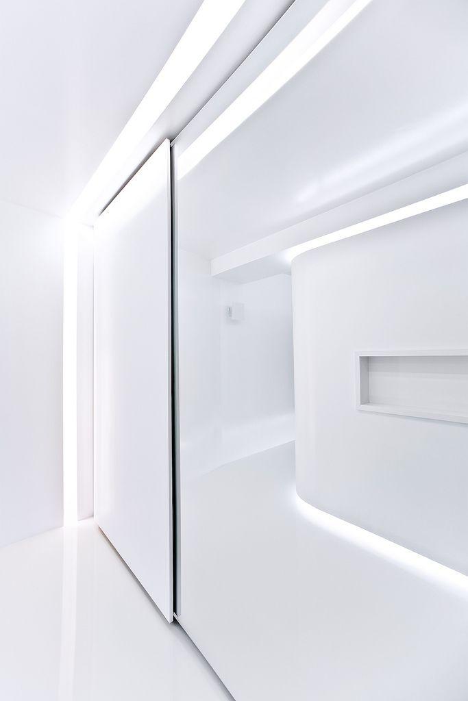 All-white interior by Alex Adam.