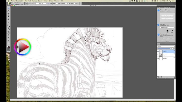 Wacom Intuos tutorial, Step 5: Adding Finishing Details in ...
