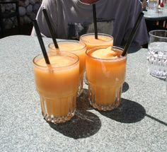 Frozen Rum Runners - rum delicious!  Click for the recipe!