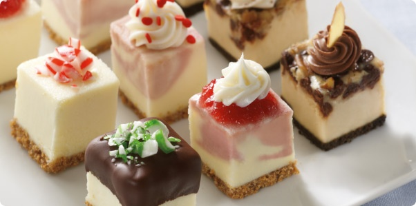 Holiday Cheesecake Bites Recipe