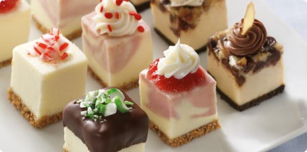 Holiday Cheesecake Bites Recipe