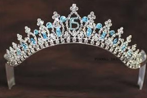 Details about QUINCEANERA TIARA PRINCESS FANCY BIRTHDAY ...