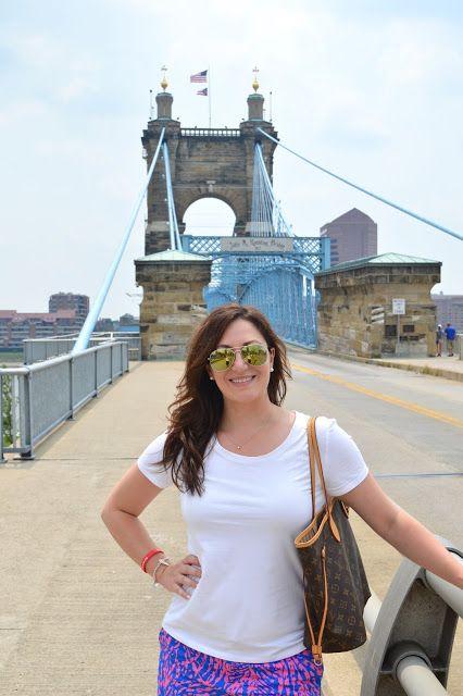 Celebrating this Life: Morning in Cincinnati #travel #cincinnati #lillypulitzer