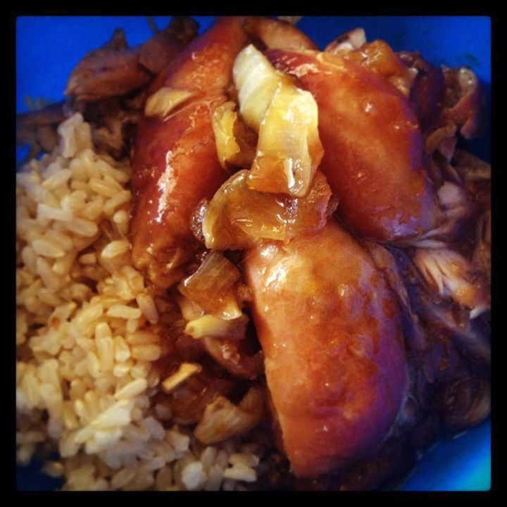 Apricot Chicken   slow cooker