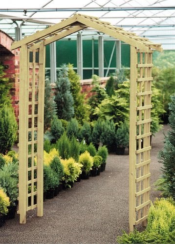 TRELLIS ARCH Trellis Arbor Tall For Flowers Wooden By ZEST, Http:/