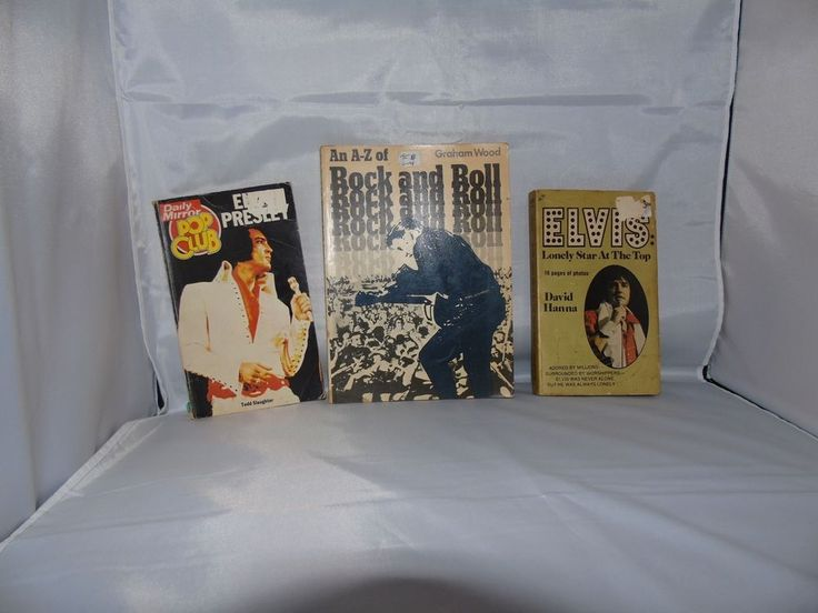 Elvis Books x3  david hanna,Tod  Slaughter,graham wood in Books, Comics & Magazines, Other Books, Comics, Magazines | eBay