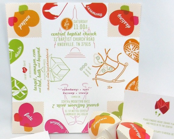 Cootie Catcher Wedding Invitation: 99 Best Printables Images On Pinterest
