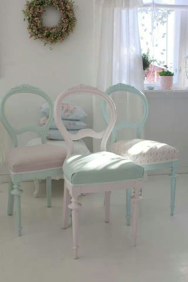 .In love with these chairs!