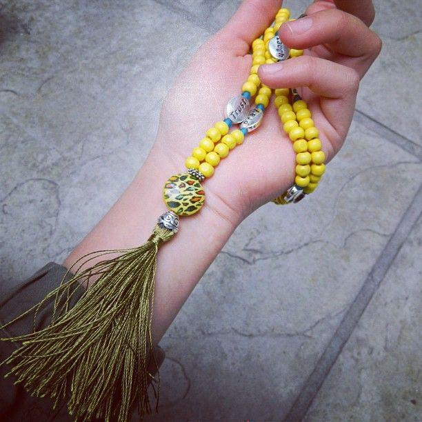 spiritual prayer beads.