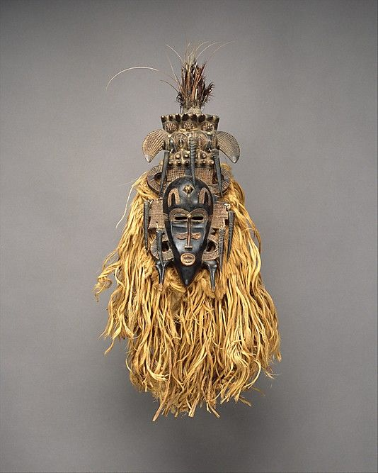CÔTE D'IVOIRE | Face Mask (Kpeliye'e), 19th–mid-20th century. Côte d'Ivoire. The Metropolitan Museum of Art, New York. The Michael C. Rockefeller Memorial Collection, Purchase, Nelson A. Rockefeller Gift, 1965 (1978.412.489) #WorldCup