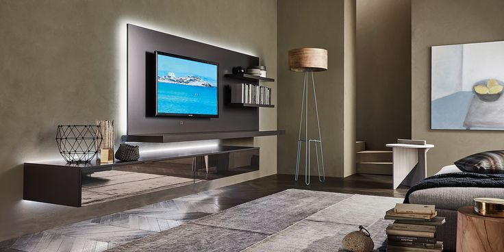 best 25 tv wand wohnzimmer ideas on pinterest tv wand. Black Bedroom Furniture Sets. Home Design Ideas