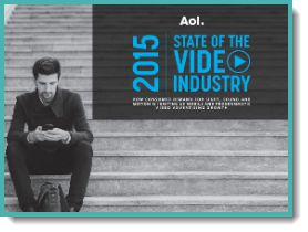 Video Marketing Whitepapers - State of Video Industry 2015 (registration required)