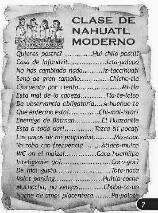 aztec vocabulary language Aztec language nahuatl, nahua, language of the aztec indians, spoken by approximately 800,000 people (1969 estimate) belongs.