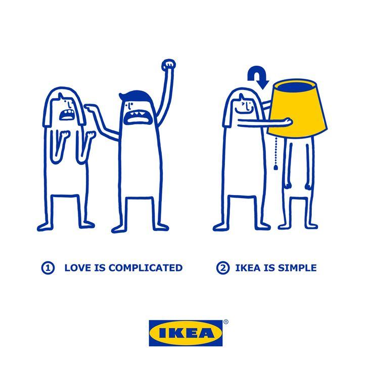 Ikea Singapore's cute Valentine's Facebook campaign – Creative Review