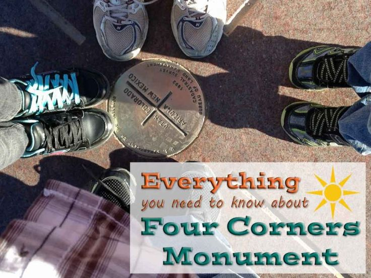 Everything you need to know about visiting Four Corners Monument via TipsforFamilyTrips.com