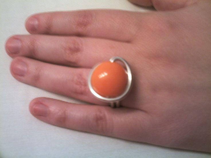 Anillo de la primera colección que hice para la tia Maria #anillos #anillosartesanales